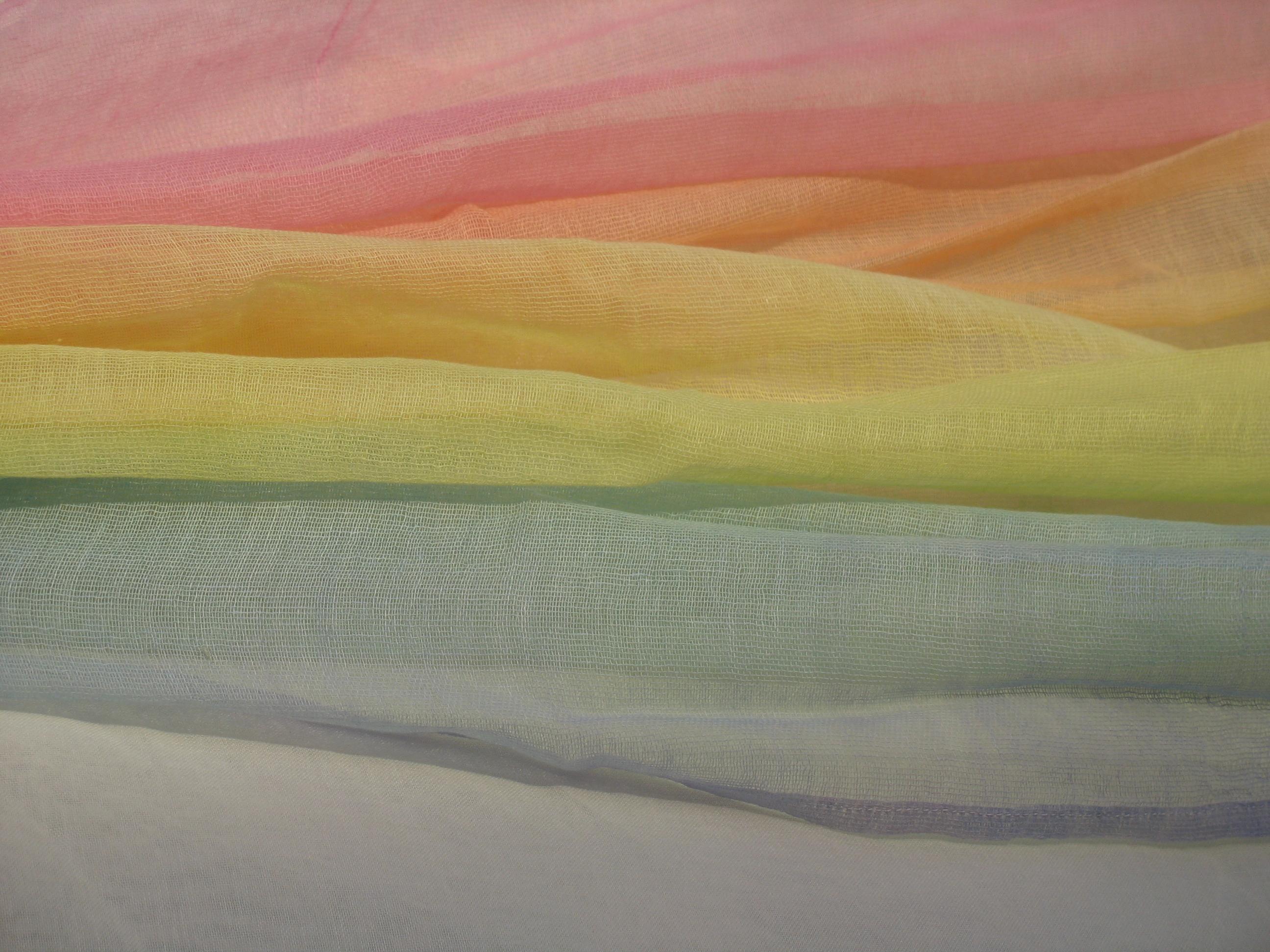 Regenbogen pastell pur